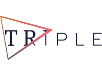 The logo of the company Triple